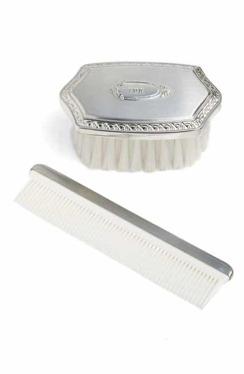 Baby boy salisbury pewter gifts nordstrom salisbury pewter personalized brush comb set baby negle Gallery