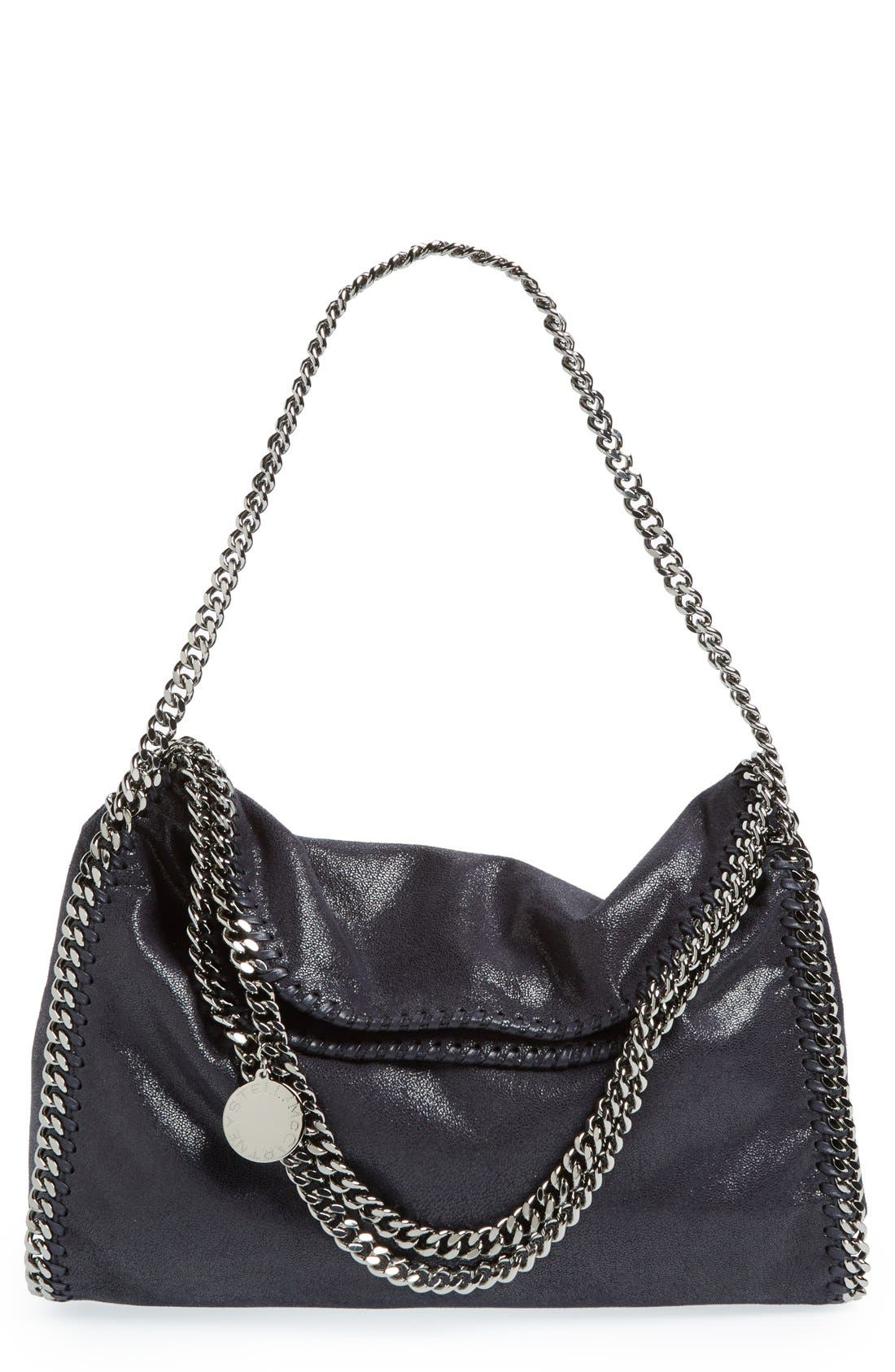 Main Image - Stella McCartney 'Falabella - Shaggy Deer' Faux Leather Foldover Tote