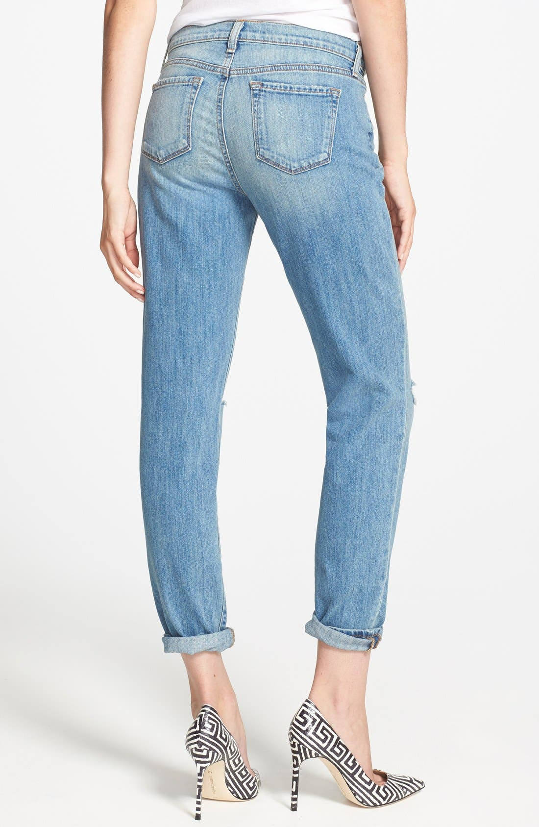 Alternate Image 2  - J Brand 'Jake' Skinny Boyfriend Jeans (Landslide)