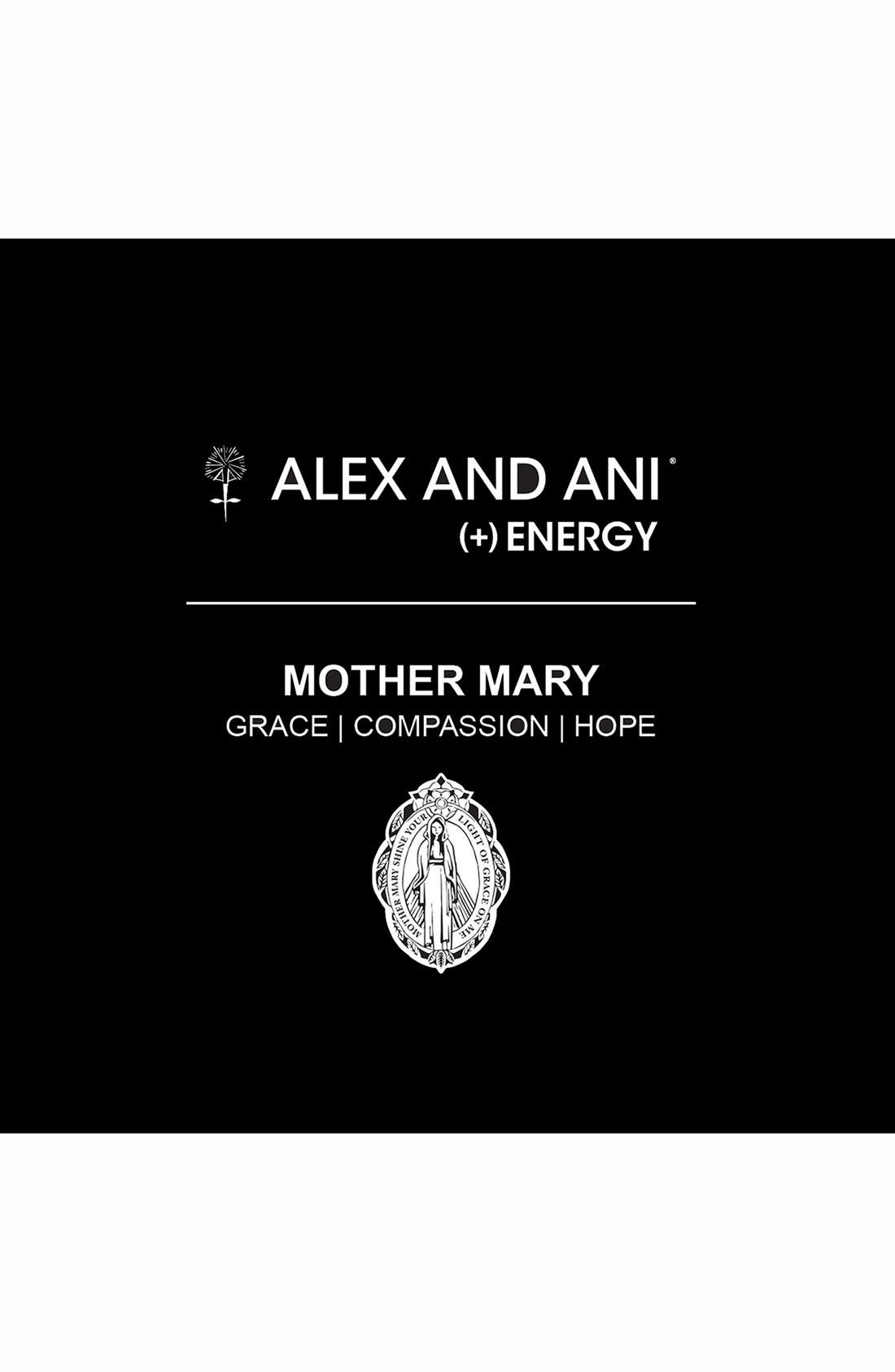 Alternate Image 2  - Alex and Ani 'Mother Mary' Wire Bangle