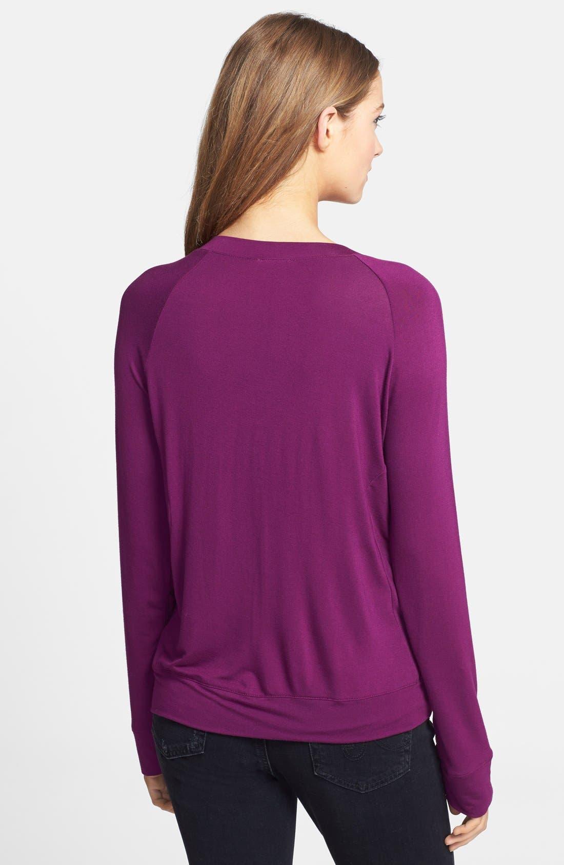 Alternate Image 2  - Halogen® Embellished Sweatshirt