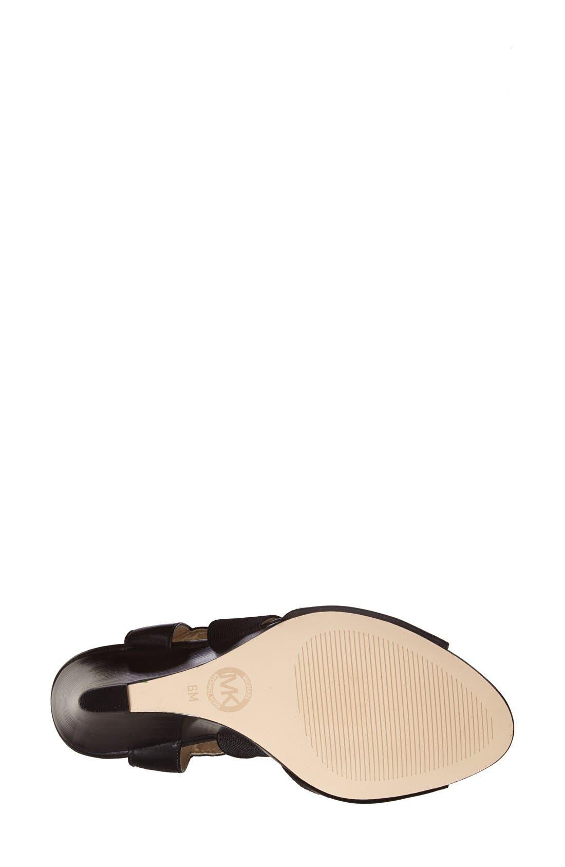 Alternate Image 3  - MICHAEL Michael Kors 'Meadow' Wedge Sandal (Women)