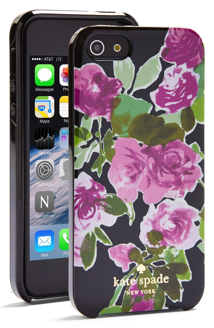 Kate Spade New York Painterly Roses Iphone 5 Amp 5s Case