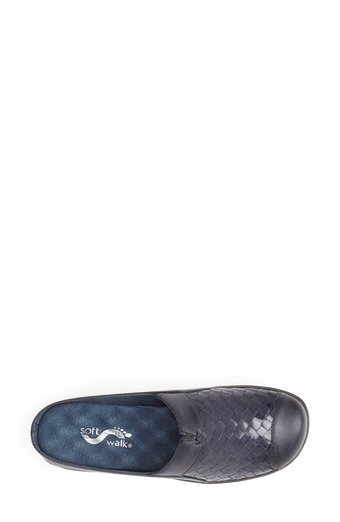 Alternate Image 3  - SoftWalk® 'San Marcos' Woven Clog (Women)