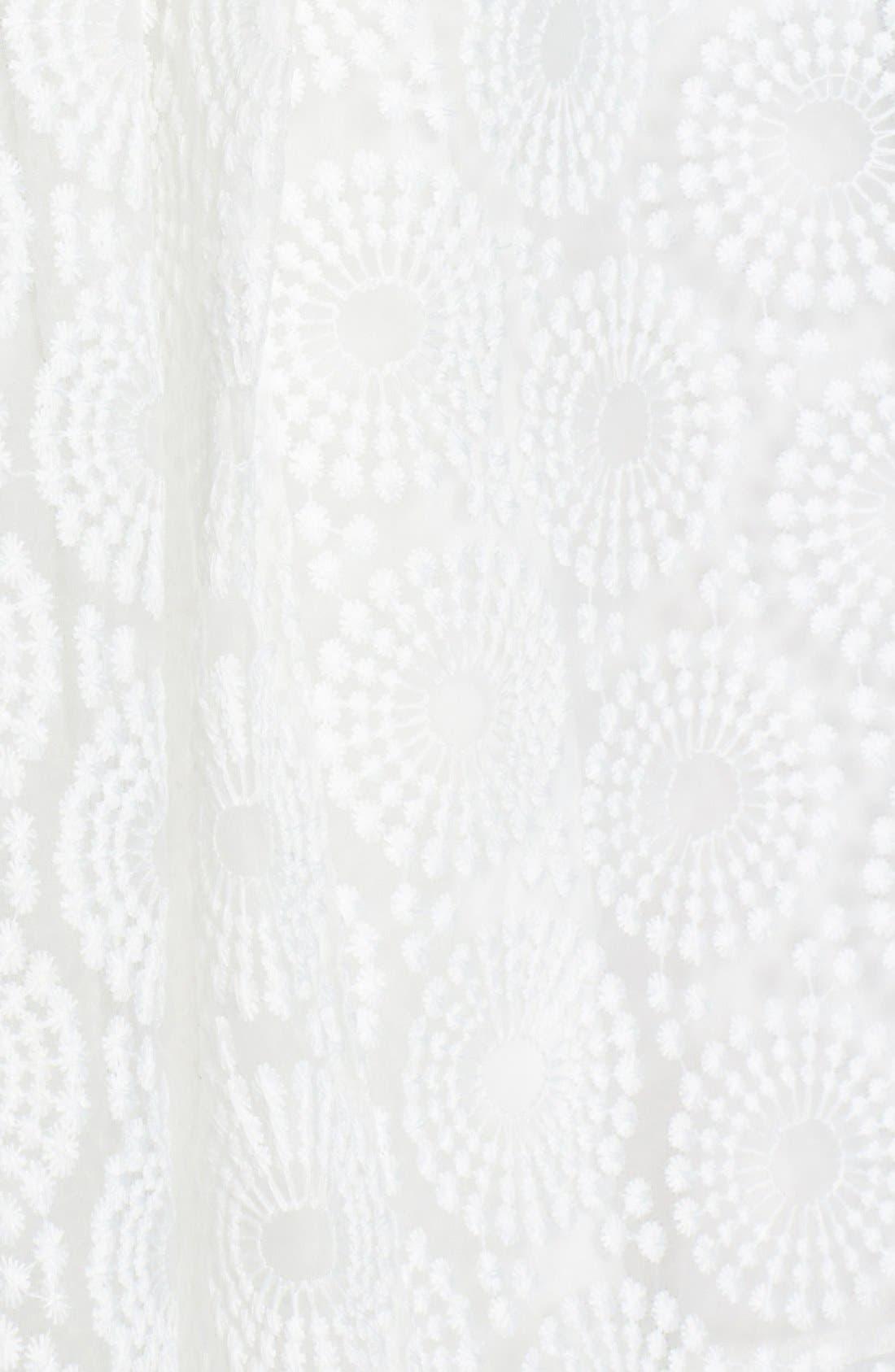 Alternate Image 4  - Plenty by Tracy Reese 'Ashley' Lace Fit & Flare Dress (Petite)
