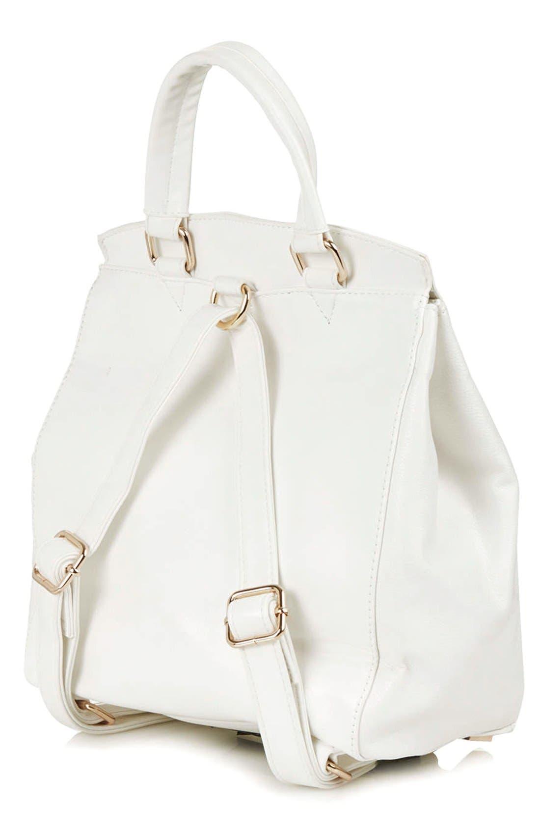 Alternate Image 4  - Topshop 'Smart' Backpack