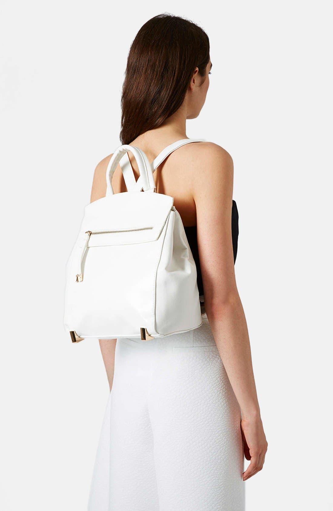 Alternate Image 2  - Topshop 'Smart' Backpack