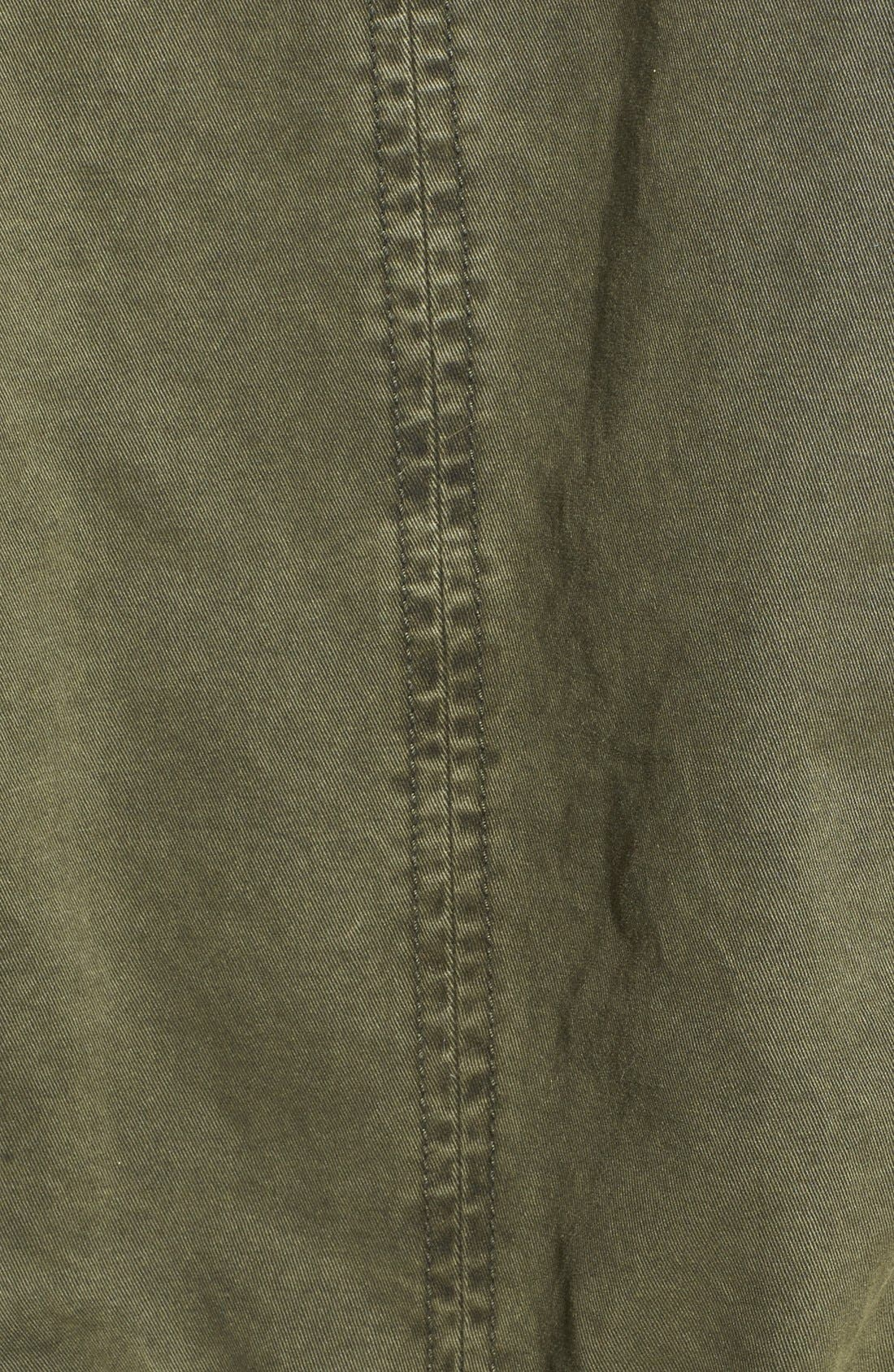 Alternate Image 3  - GUESS Faux Fur Trim Quilted Cotton Anorak (Online Only)