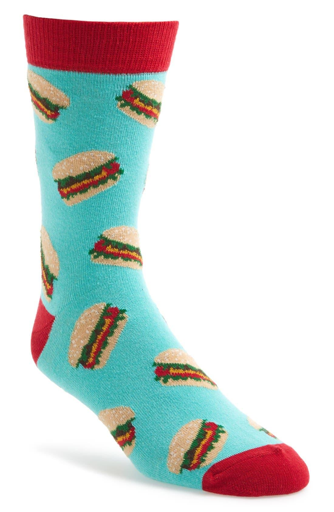 Alternate Image 1 Selected - Topman Burger Socks