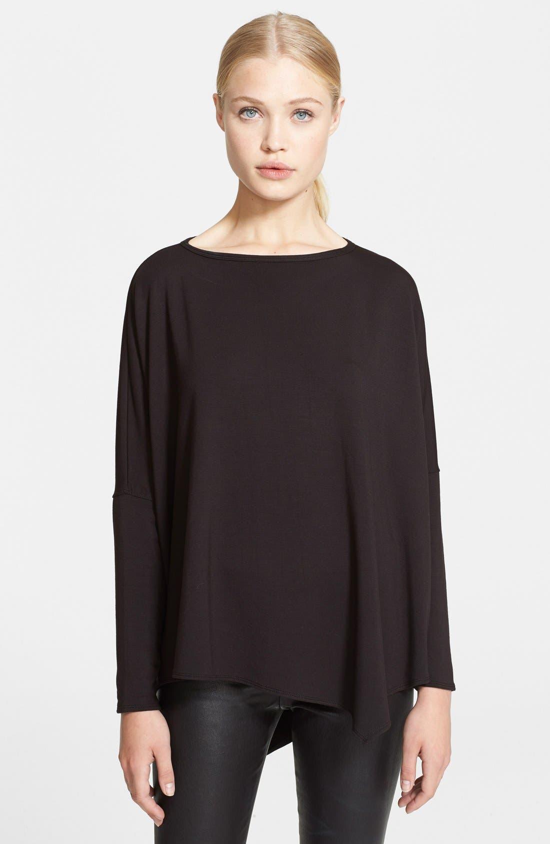 Alternate Image 1 Selected - Helmut Lang 'Villous' Oversized Pullover
