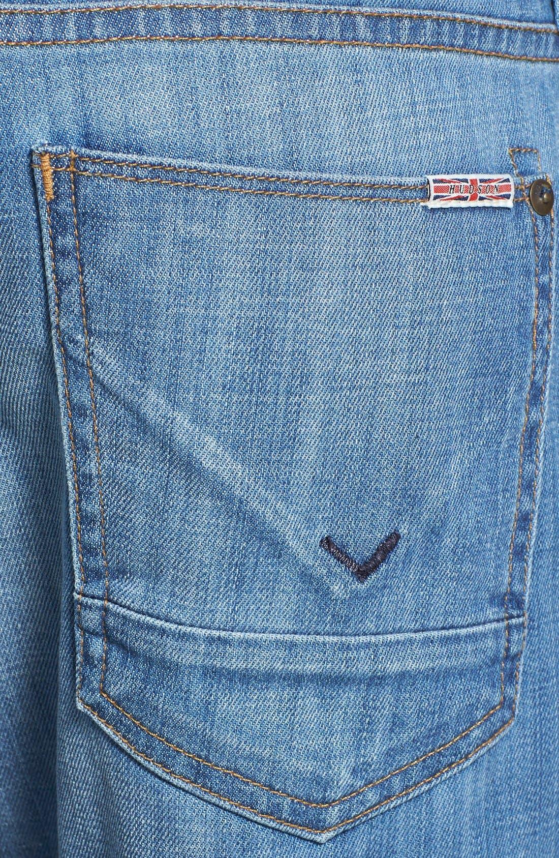 Alternate Image 4  - Hudson Jeans 'Byron' Straight Leg Jeans (Comrade)