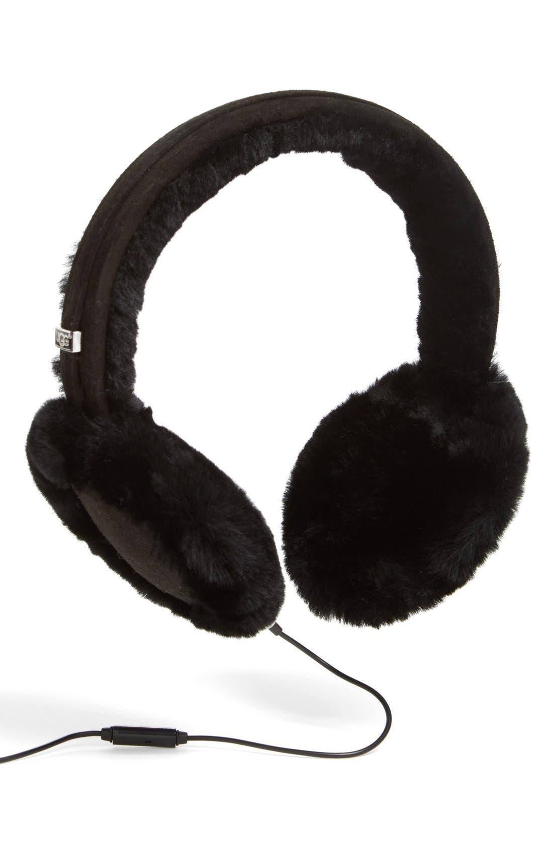 UGG® Australia 'Classic' Genuine Shearling Headphone Earmuffs