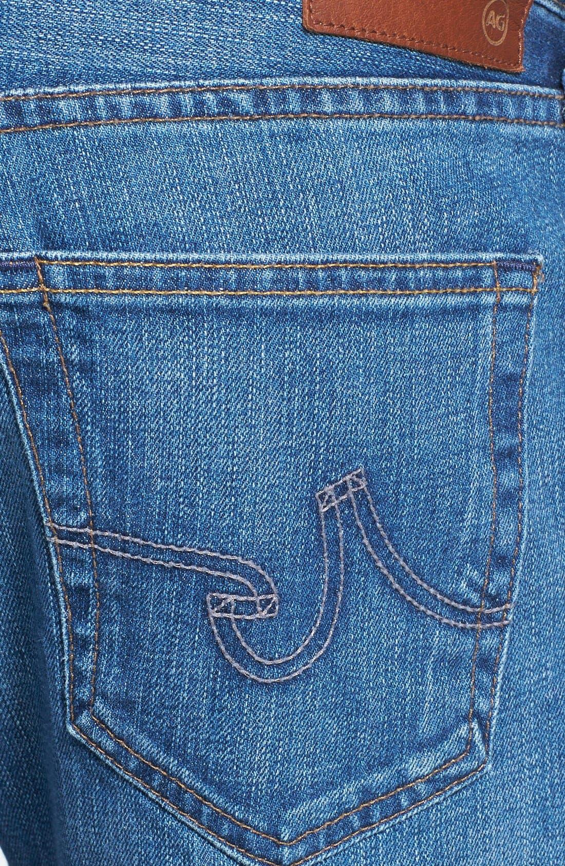 Alternate Image 4  - AG Jeans 'Protégé' Straight Leg Jeans (Eleven Year Wildcraft)