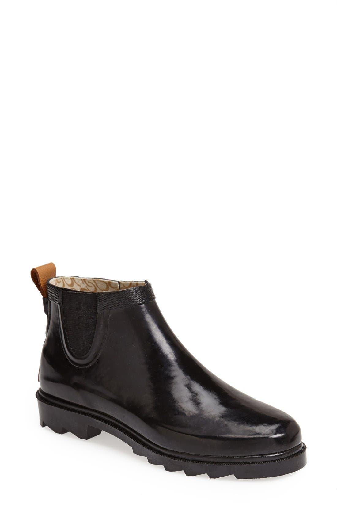 Chooka 'Top Solid' Rain Bootie (Women)