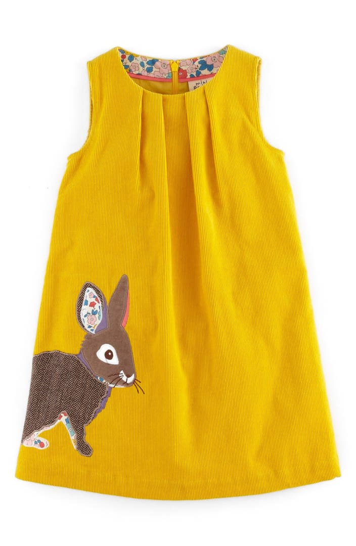 Mini boden animal appliqu corduroy dress toddler girls for Shop mini boden
