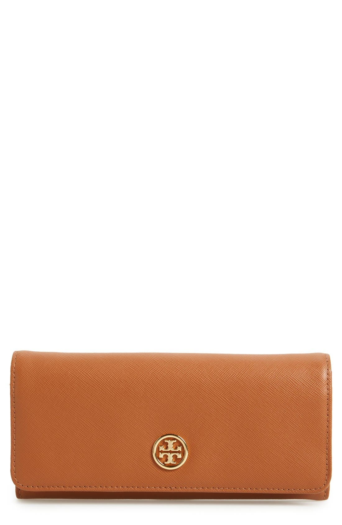 Alternate Image 1 Selected - Tory Burch 'Robinson' Envelope Continental Wallet