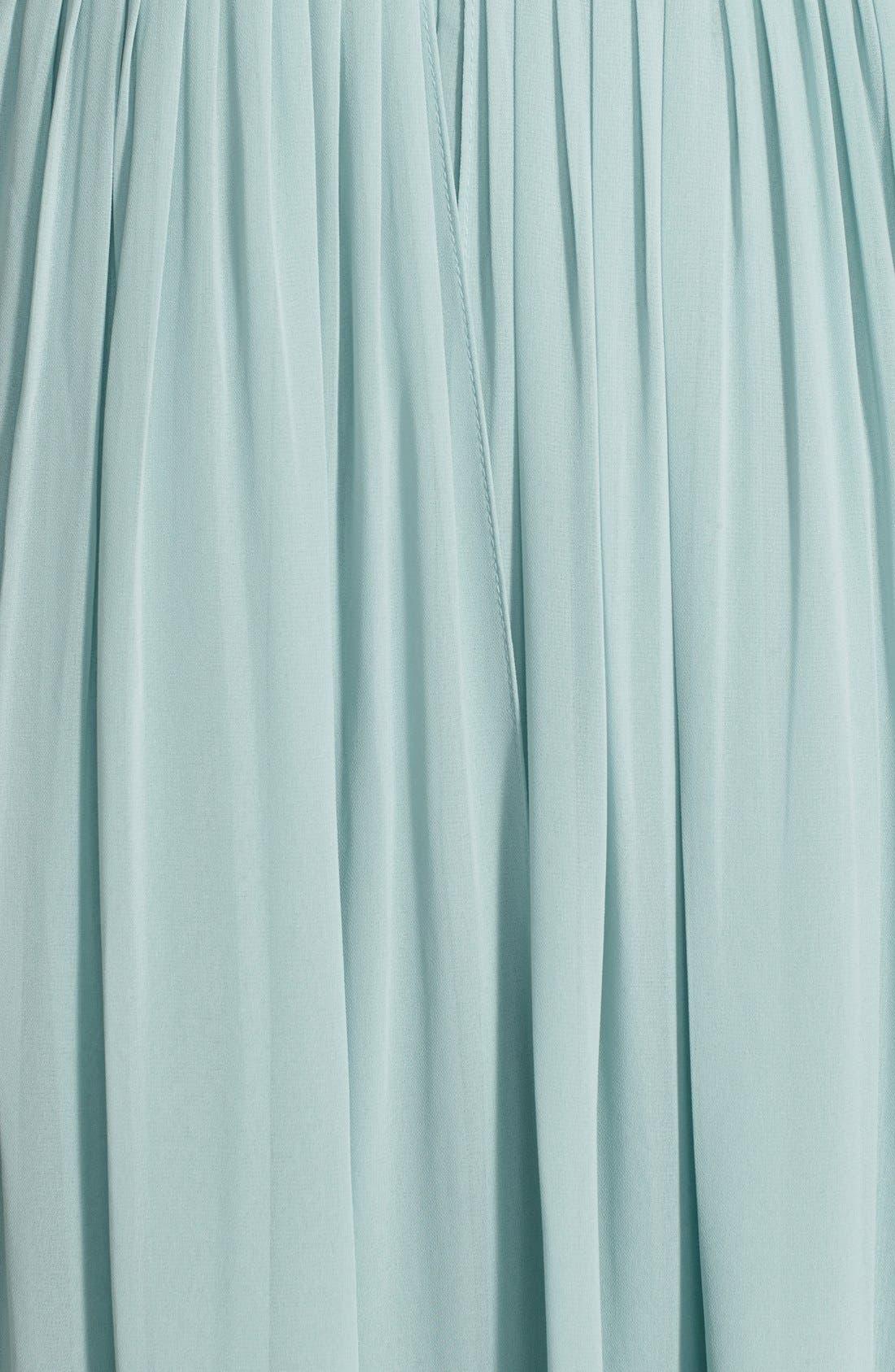 Alternate Image 9  - Jenny Yoo 'Aidan' Convertible Strapless Chiffon Gown