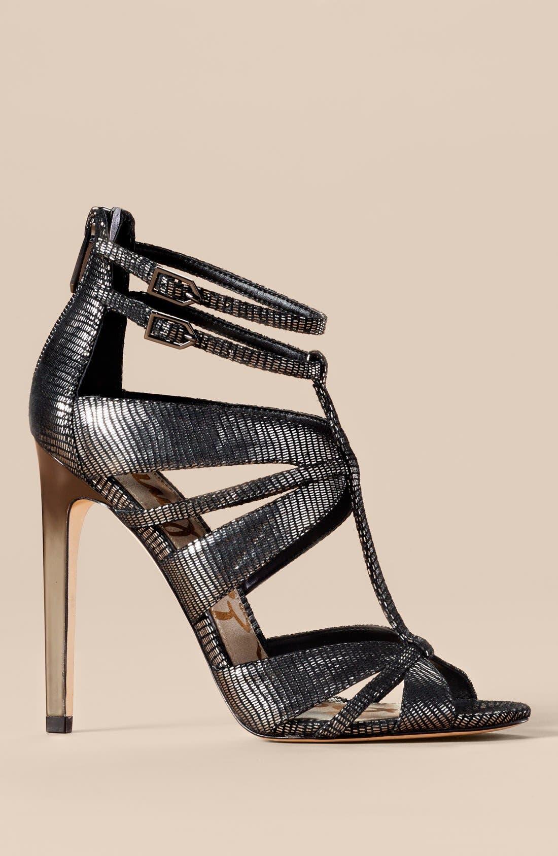 Alternate Image 5  - Sam Edelman 'Pepper' Lizard Embossed Sandal (Women)