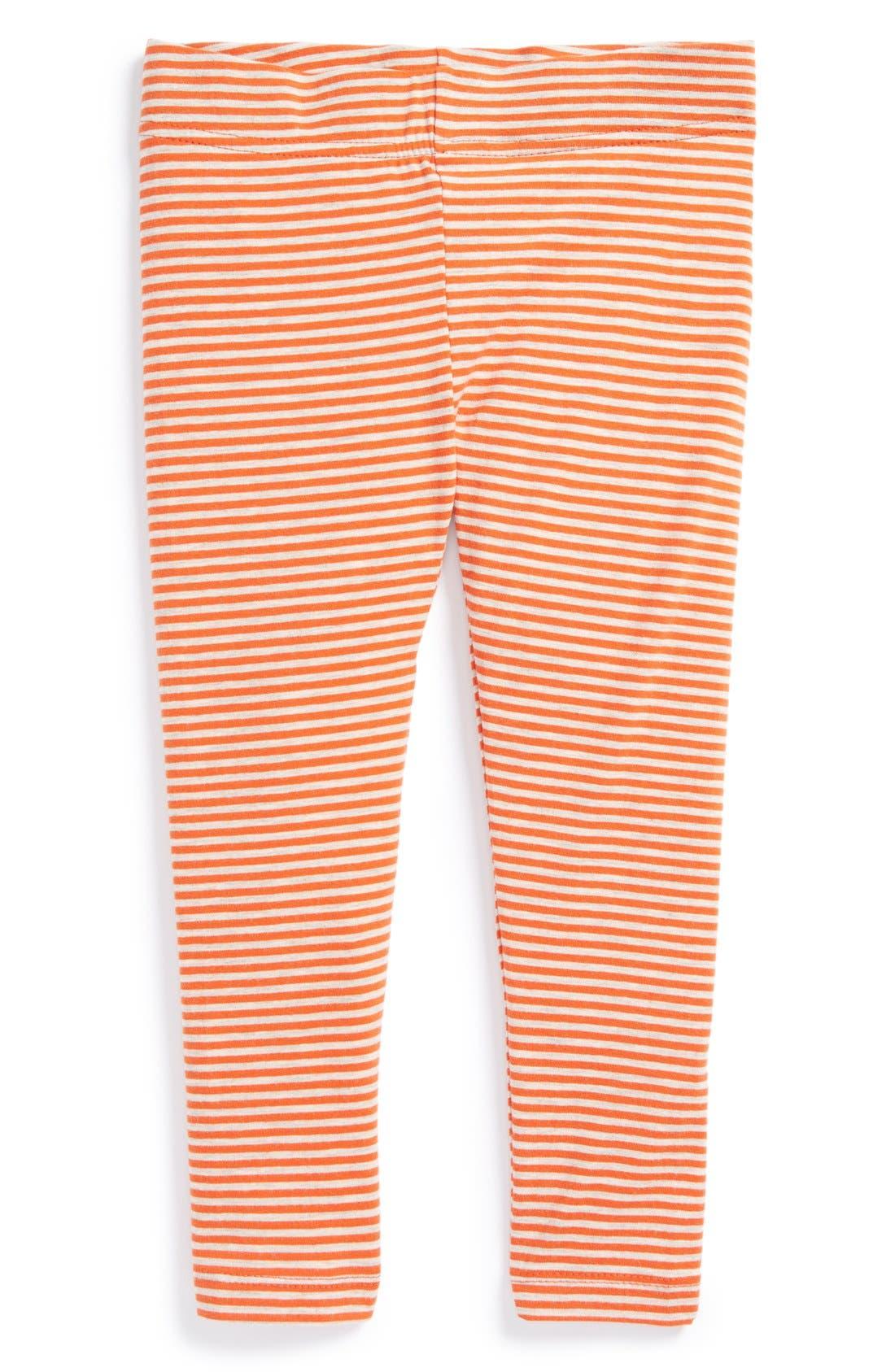 Alternate Image 1 Selected - Tucker + Tate Stripe Leggings (Toddler Girls)