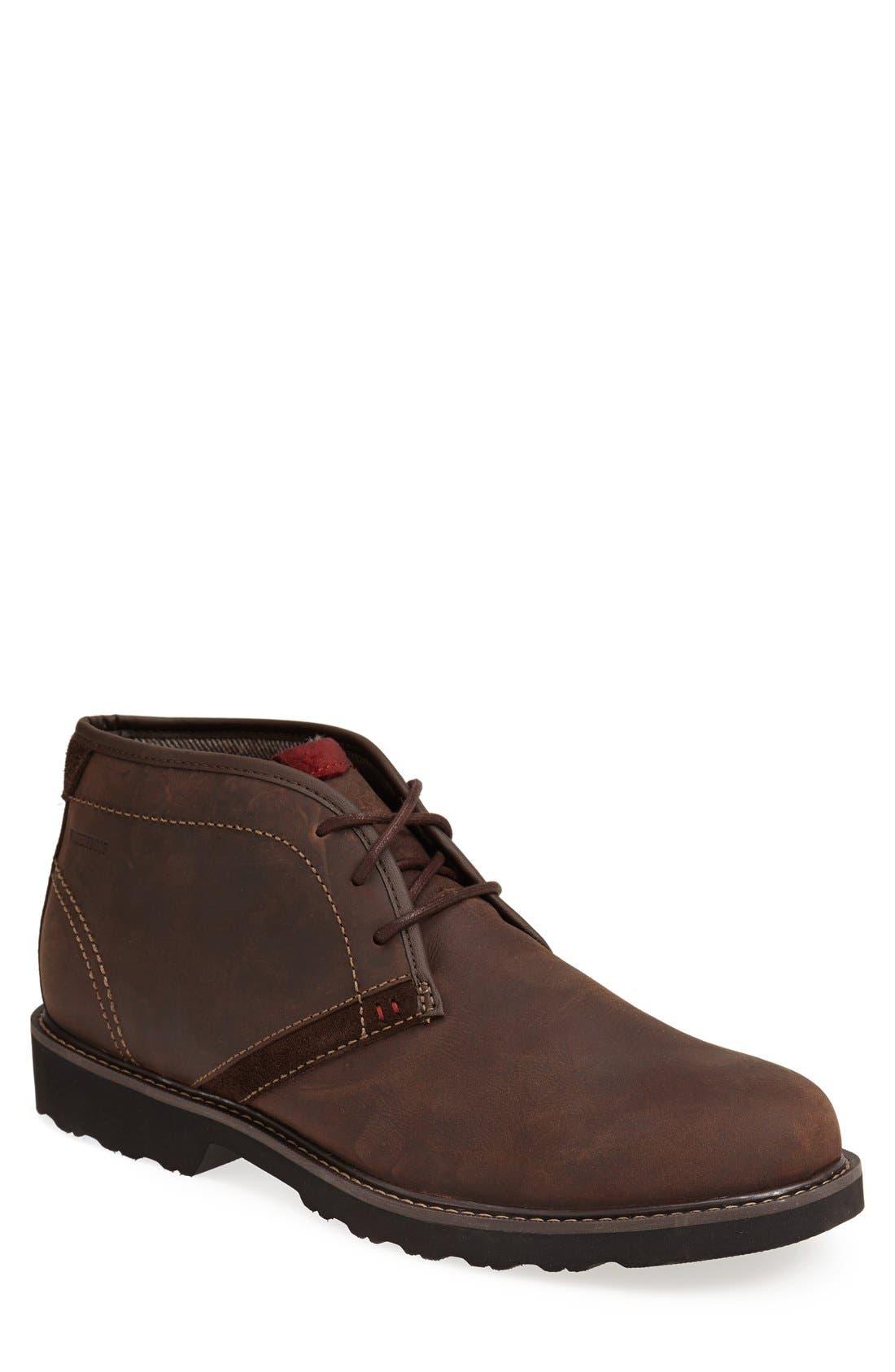 'REVdash' Chukka Boot,                             Main thumbnail 1, color,                             Brown