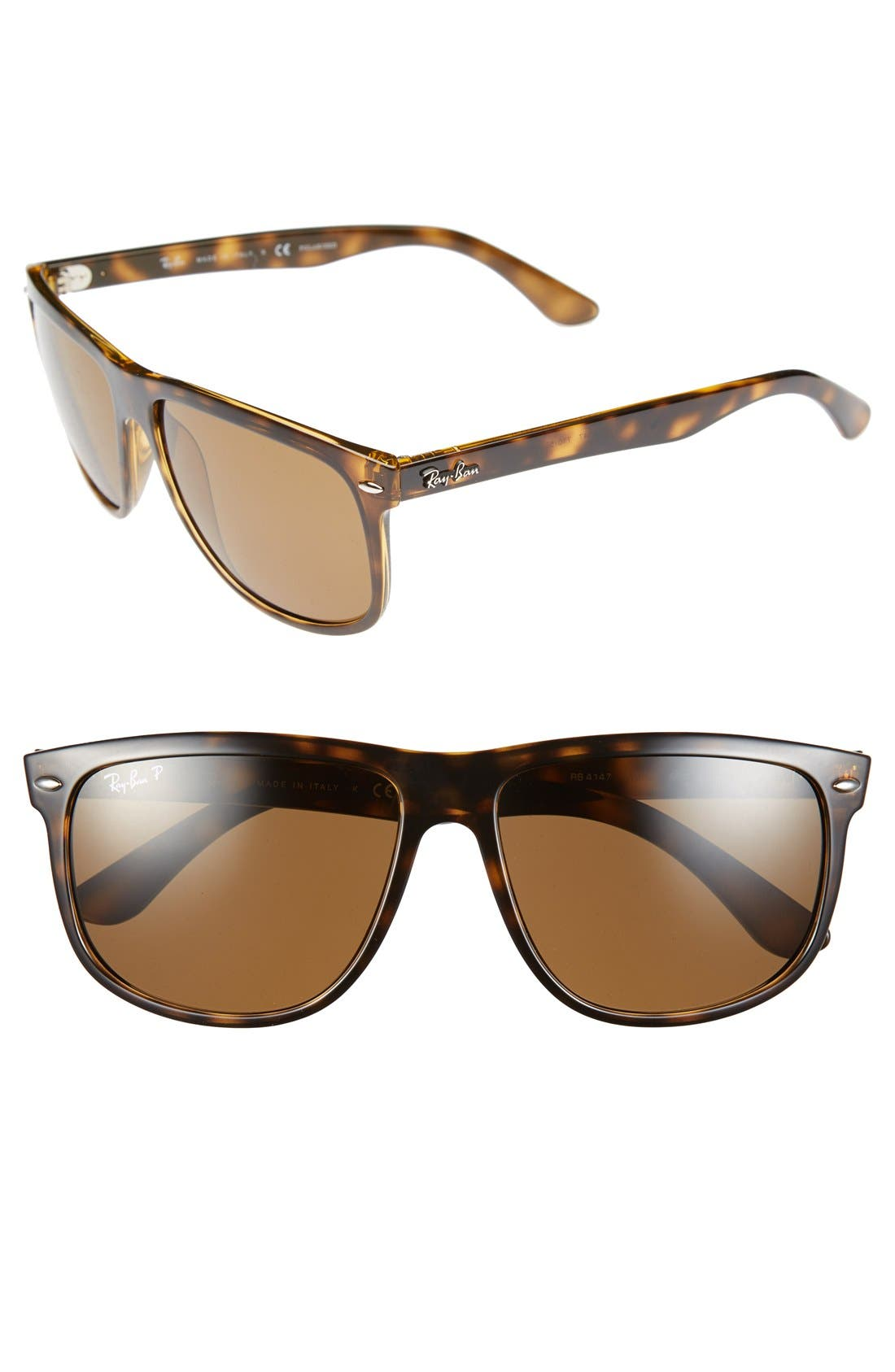 Main Image - Ray-Ban 'Boyfriend' 60mm Polarized Sunglasses