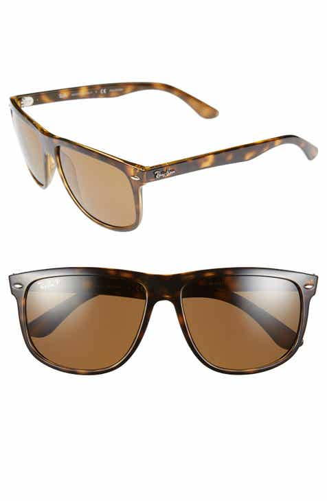 f4acfb60f5 Ray-Ban  Boyfriend  60mm Polarized Sunglasses