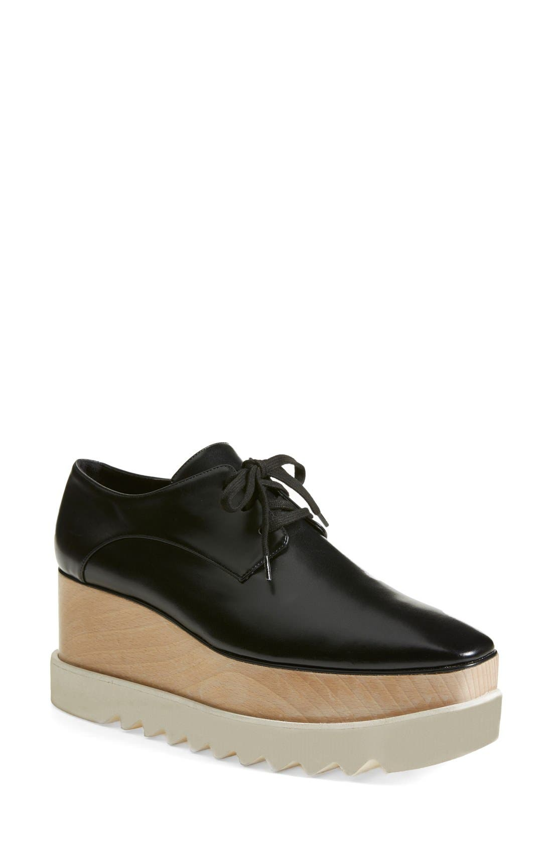 Platform Oxford,                             Main thumbnail 1, color,                             Black