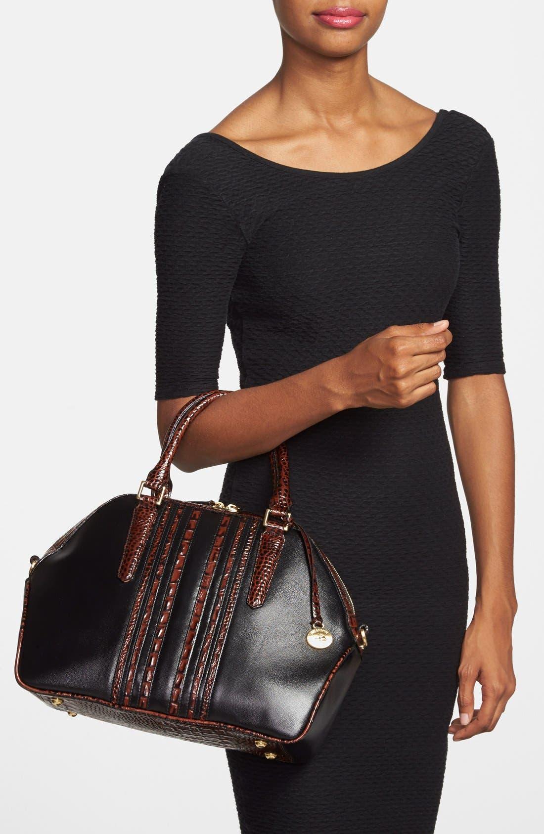 Alternate Image 2  - Brahmin 'Hudson' Leather Satchel