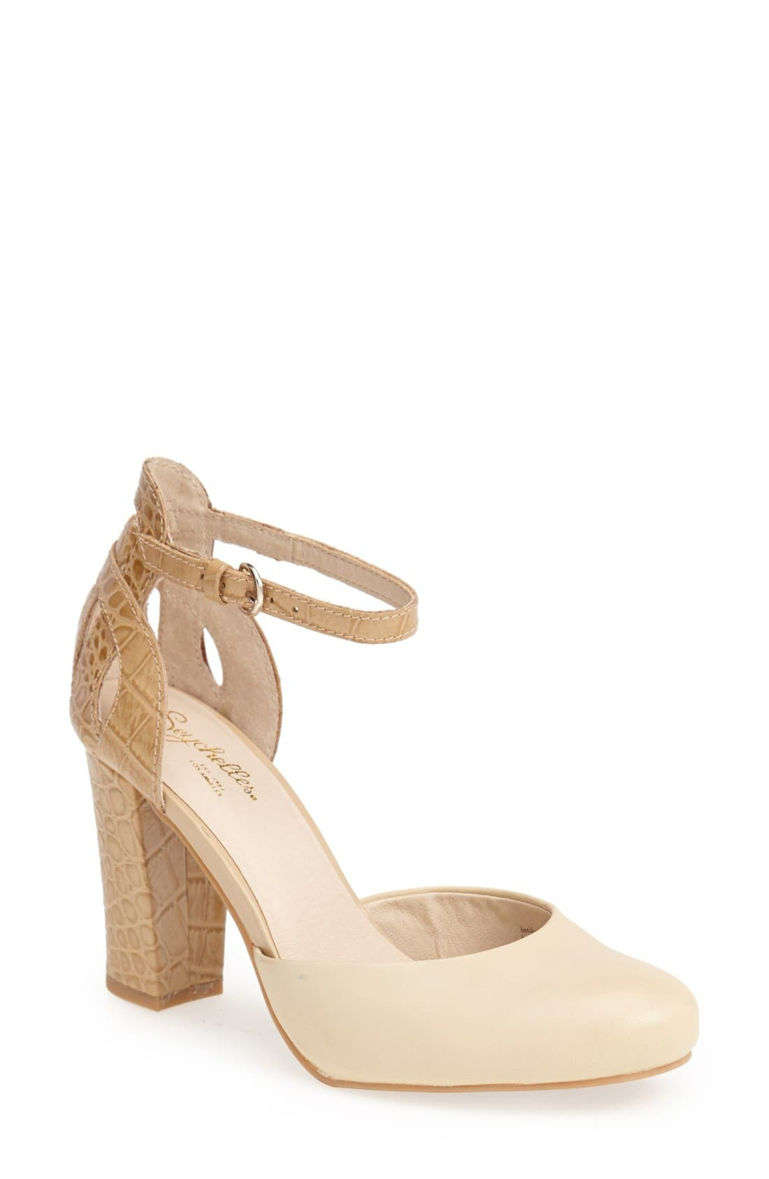 Main Image - Seychelles 'Conquer' Ankle Strap d'Orsay Pump (Women)