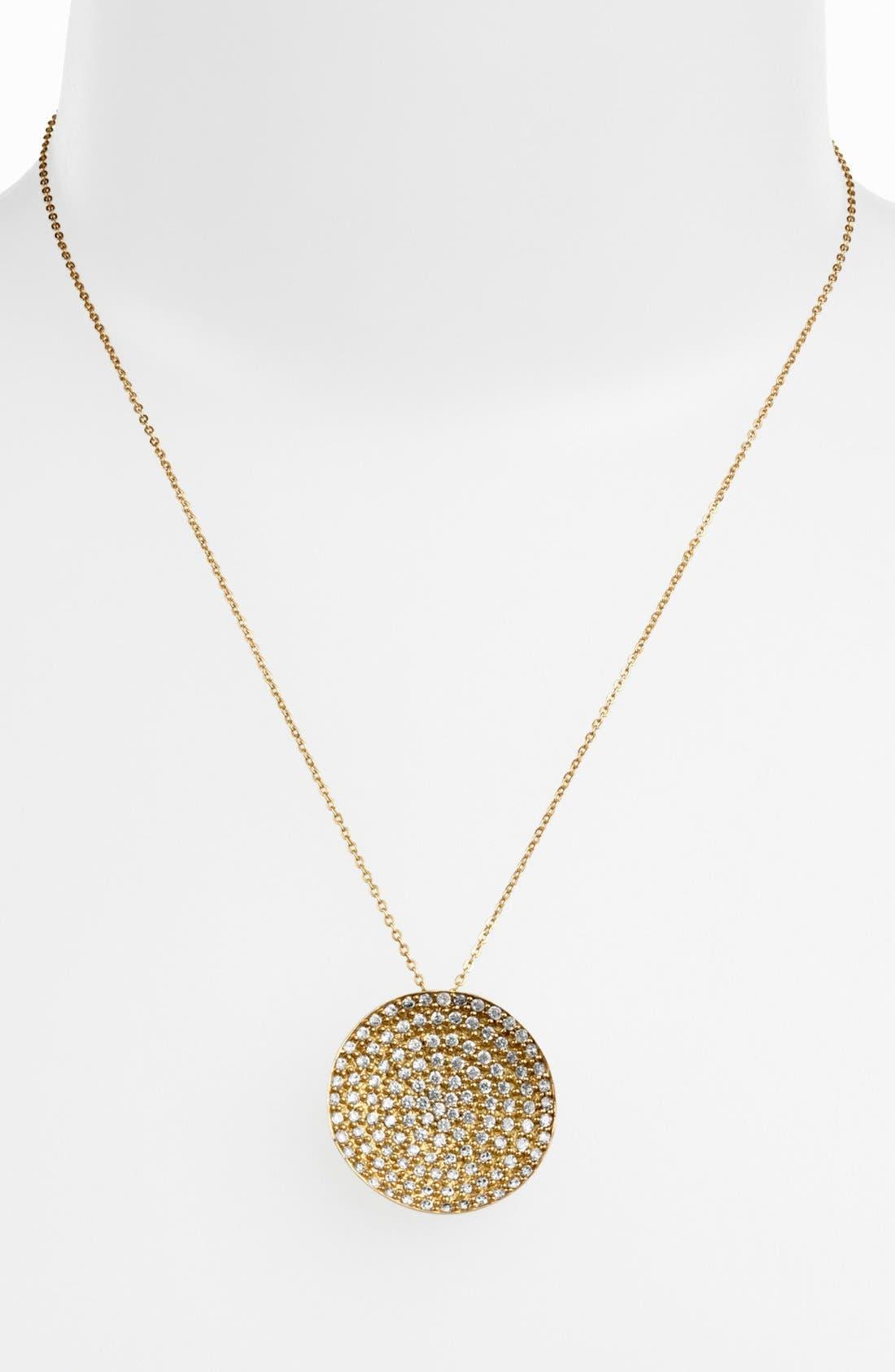 Alternate Image 2  - Melinda Maria 'Nicole' Pendant Necklace