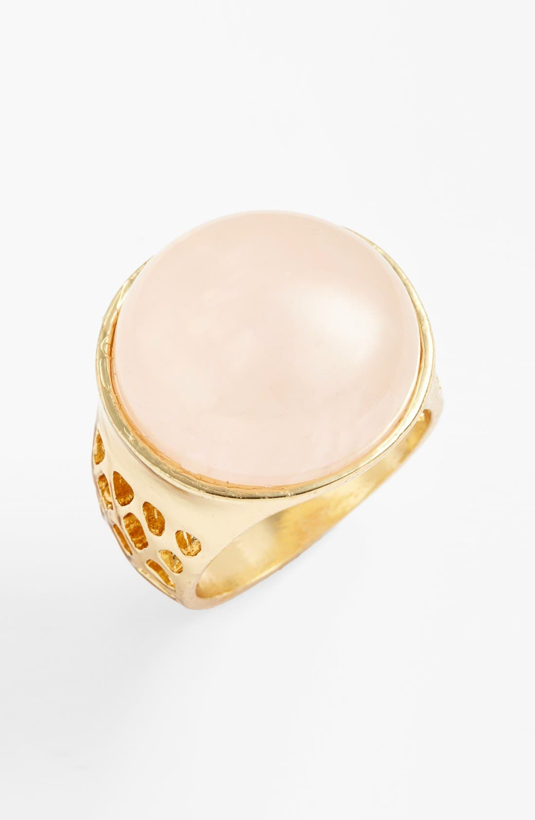 Alternate Image 1 Selected - Sole Society Natural Stone Ring
