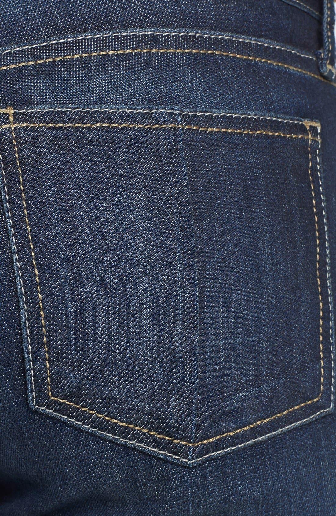 Alternate Image 3  - KUT from The Kloth Roll-Up Denim Bermuda Shorts (Wise) (Regular & Petite)