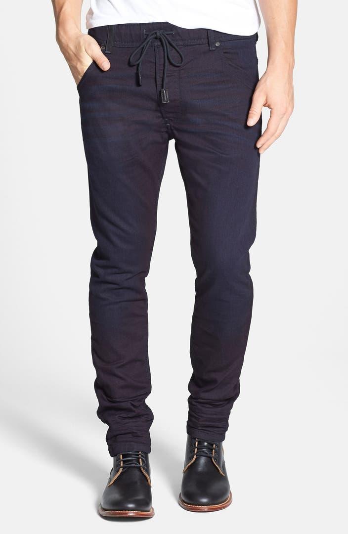 diesel krooley jogg slouchy skinny fit jeans 0829p. Black Bedroom Furniture Sets. Home Design Ideas