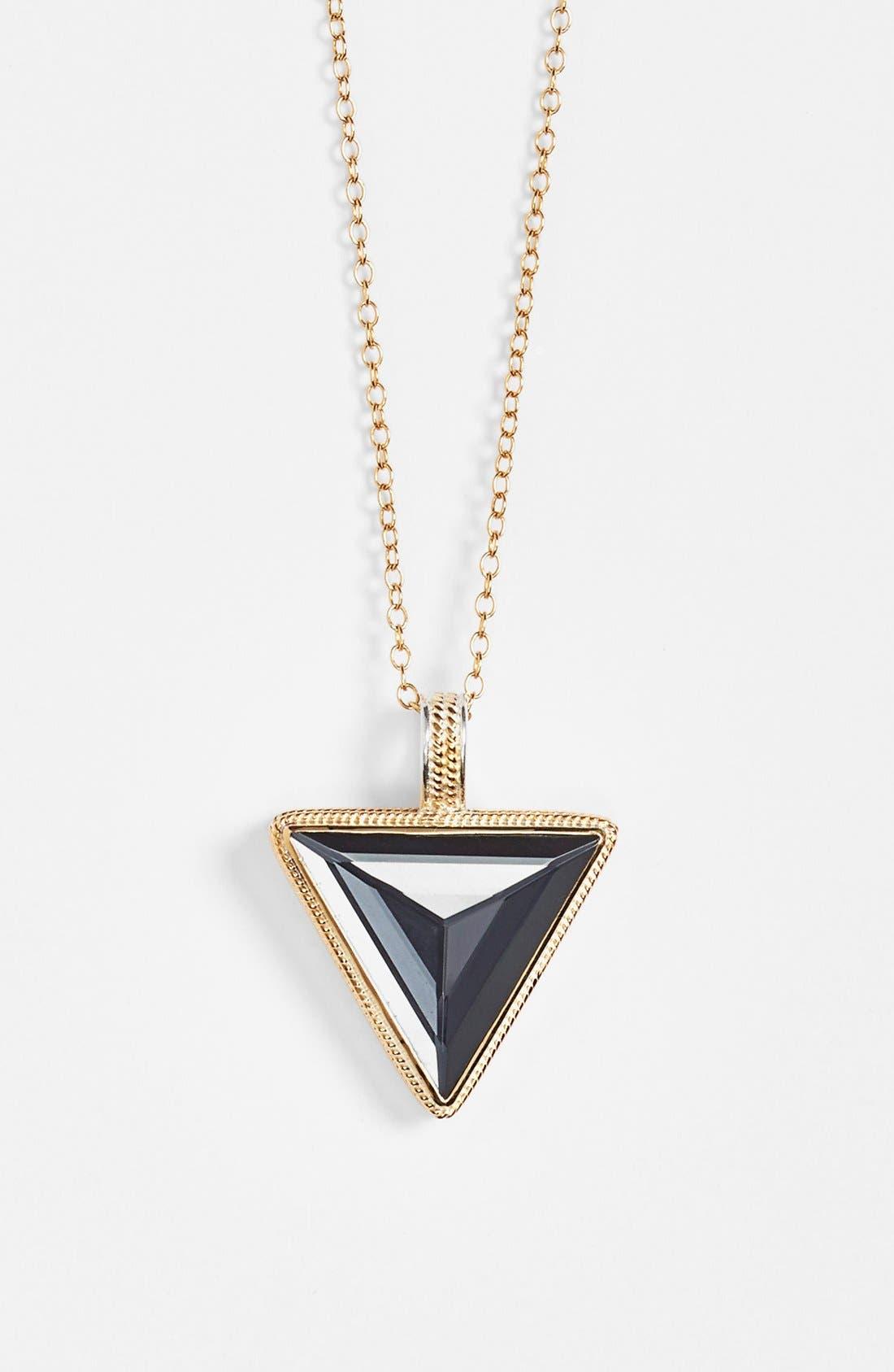 Alternate Image 2  - Anna Beck 'Gili' Triangle Pendant Necklace