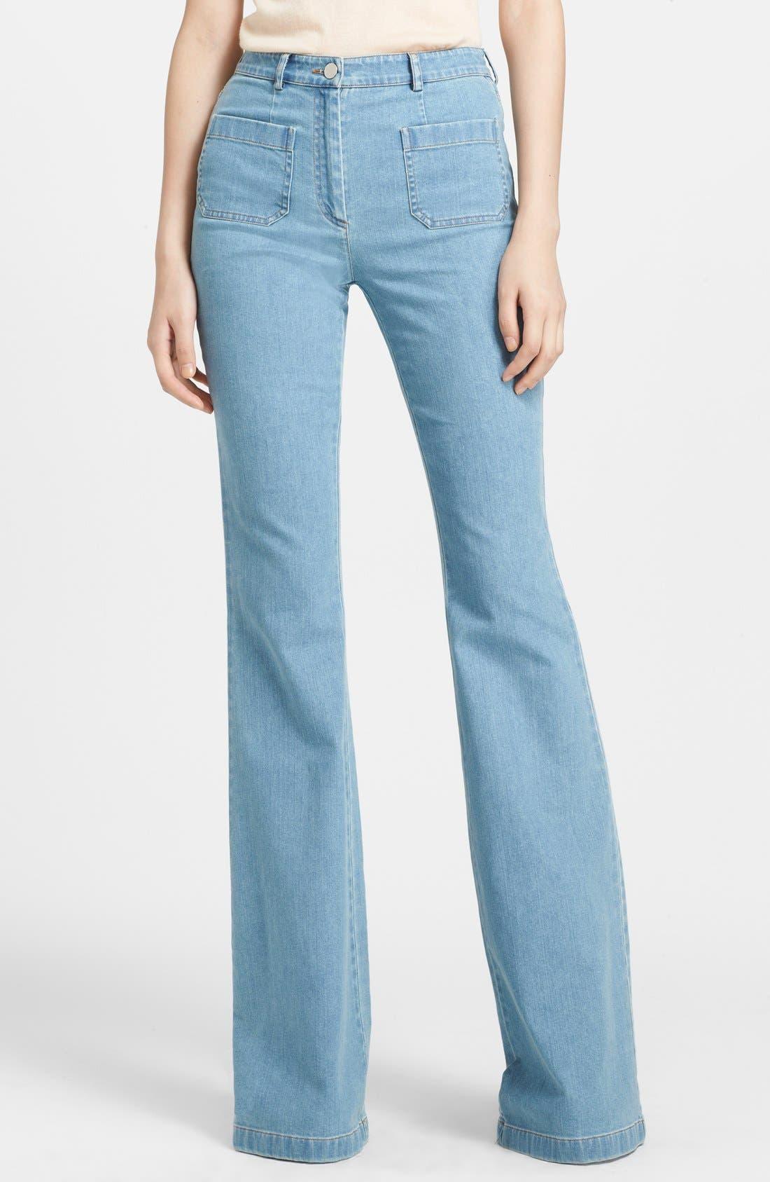 Alternate Image 1 Selected - Michael Kors Bell Bottom Stretch Jeans