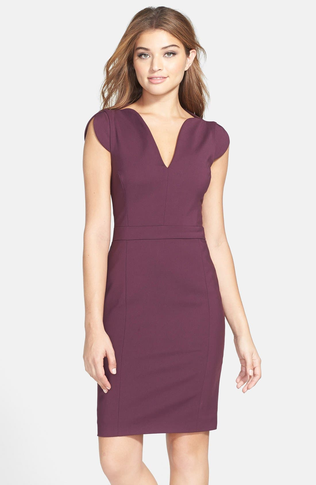 Main Image - French Connection 'Lolo' Stretch Sheath Dress