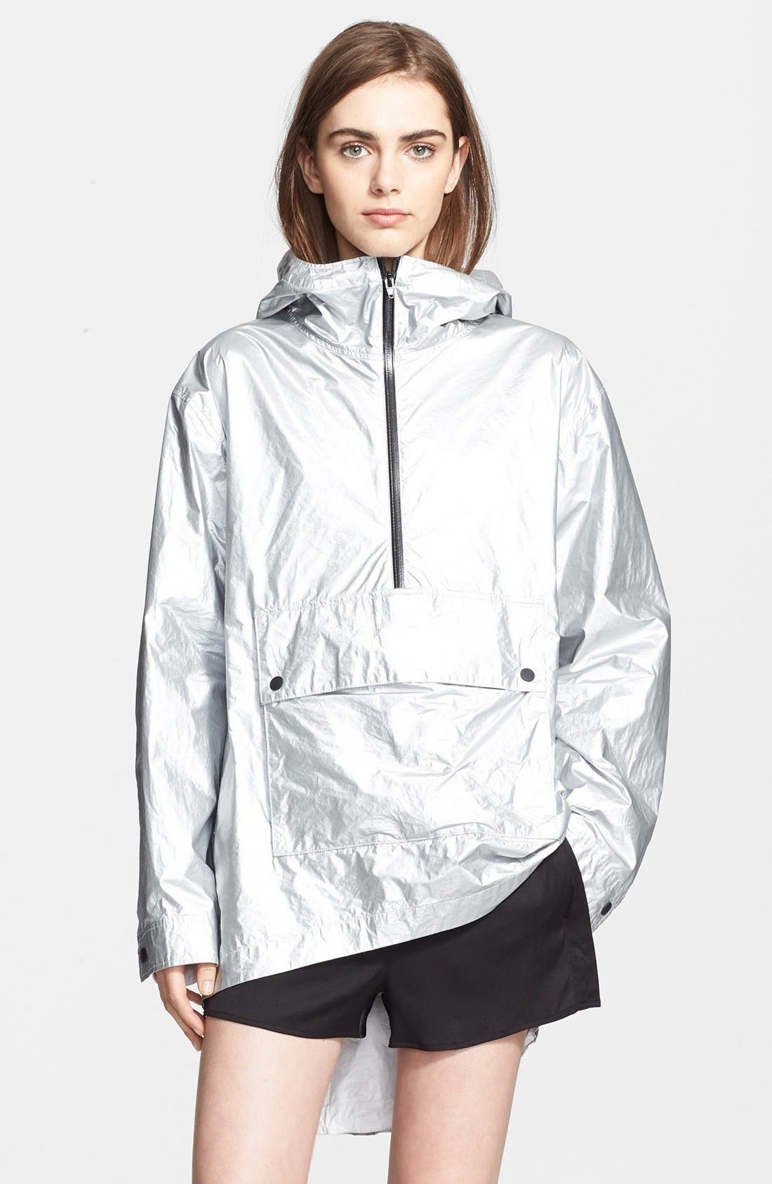 Main Image - T by Alexander Wang Laminated Tyvek® Hooded Anorak