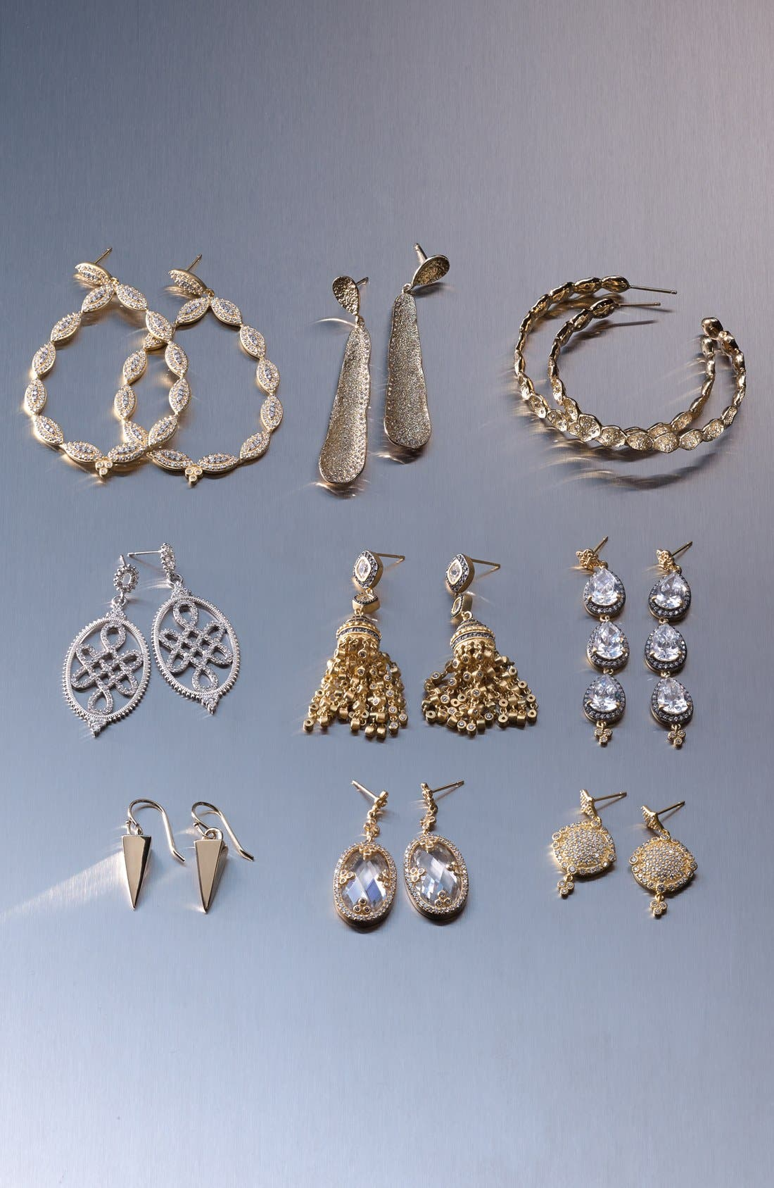 Alternate Image 3  - Melinda Maria 'Sabina Infinity' Pavé Hoop Earrings