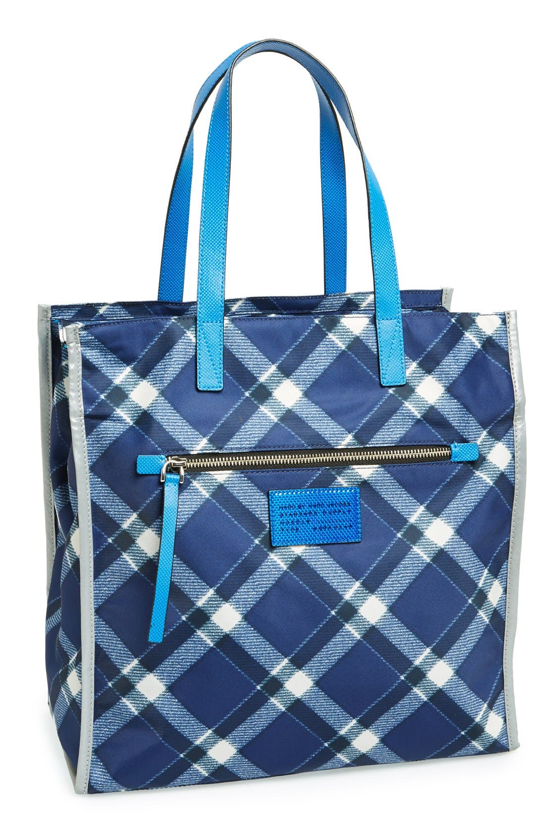 Main Image - MARC BY MARC JACOBS 'Marc It Plaid' Tote