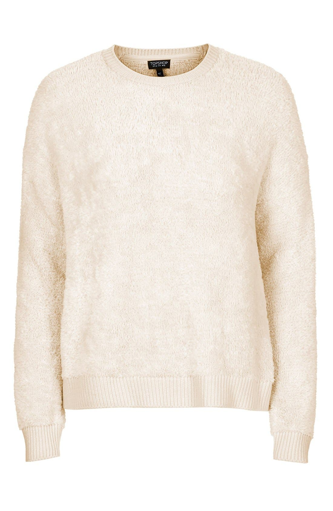 Alternate Image 3  - Topshop Fluffy Pullover Sweater