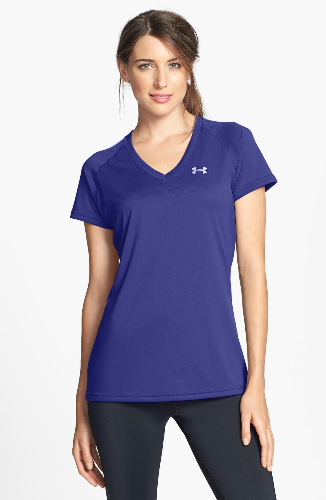 Alternate Image 1 Selected - Under Armour 'New Tech' Tee
