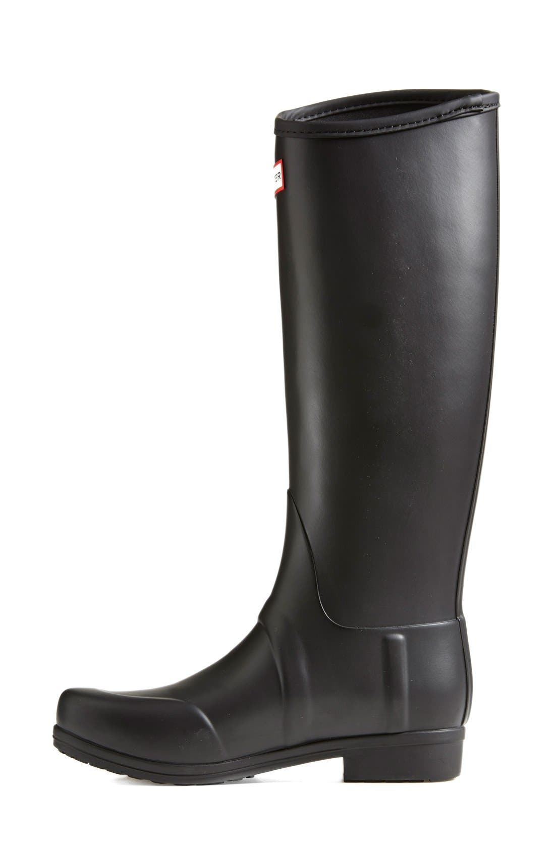 Alternate Image 6  - Hunter 'Sandhurst' Tall Rain Boot (Women)
