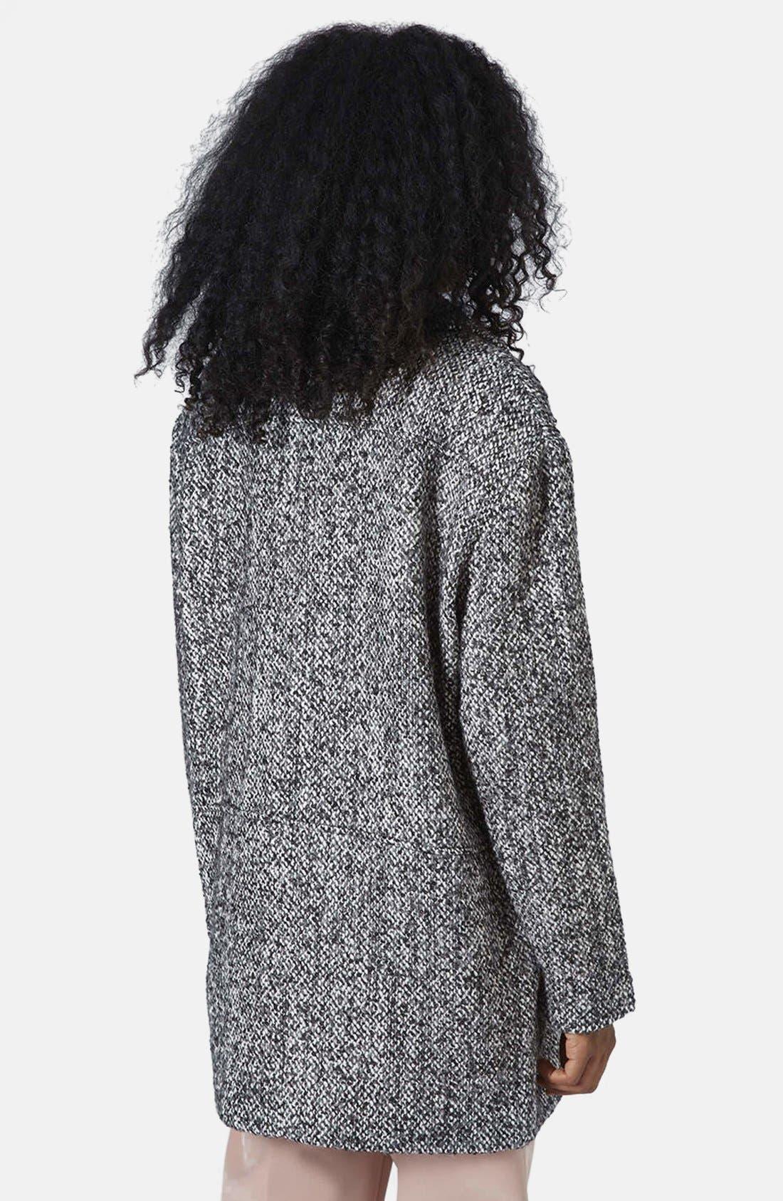 Alternate Image 2  - Topshop Textured Wool Jacket
