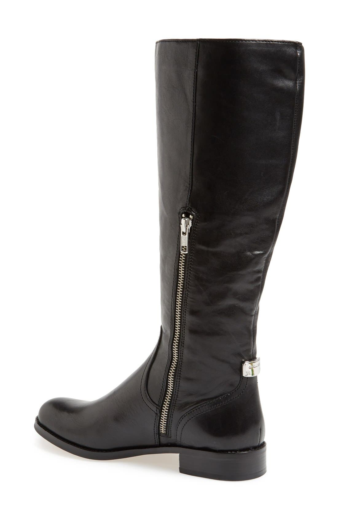 Alternate Image 3  - COACH 'Mirriam' Leather Riding Boot (Women)