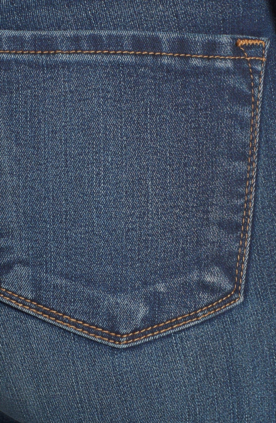 Alternate Image 3  - J Brand '8112 Mid Rise Rail' Skinny Jeans (Venture)