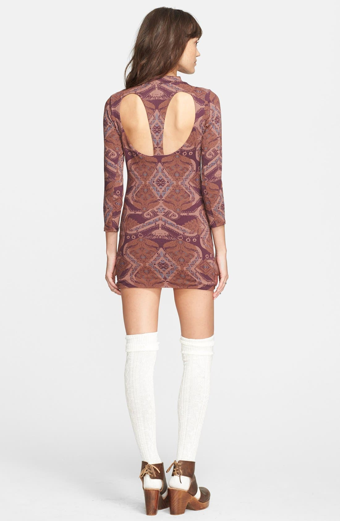 Alternate Image 2  - Free People 'Cute & Cozy' Body-Con Dress