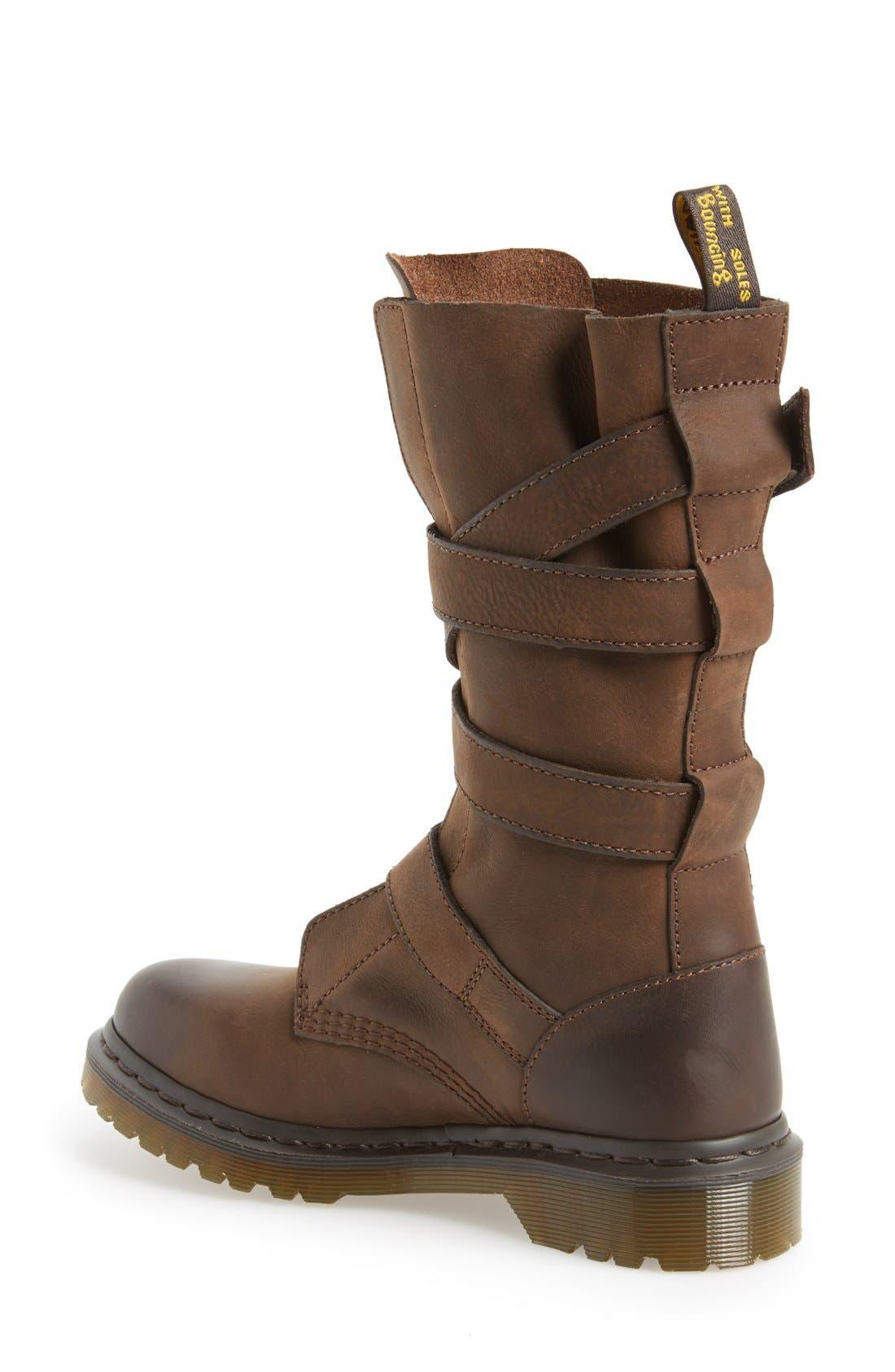 Alternate Image 2  - Dr. Martens 'Lauren' Lug Military Boot (Women)