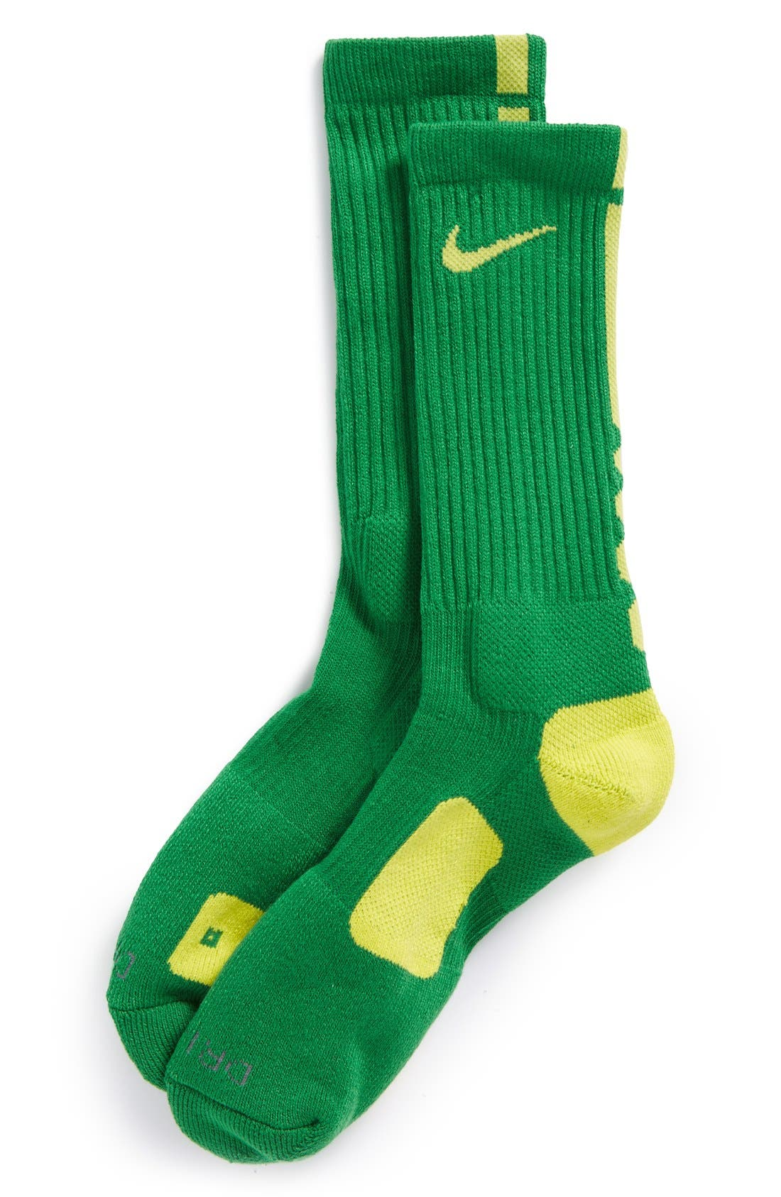 Alternate Image 1 Selected - Nike 'Elite Basketball' Crew Socks (Boys)