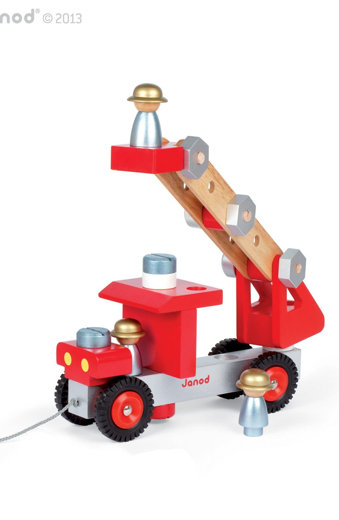 DIY Fire Truck,                         Main,                         color, Red