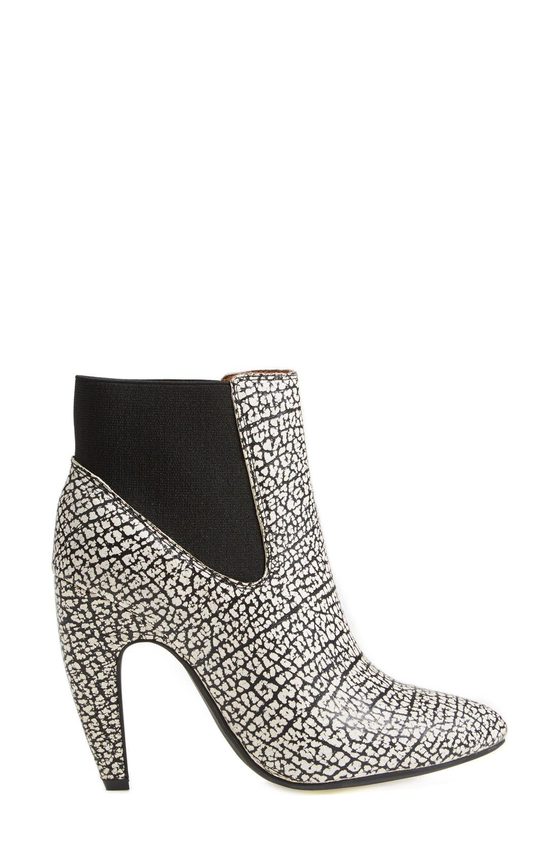 Alternate Image 4  - Jeffrey Campbell 'Calzino' Suede Bootie (Women)